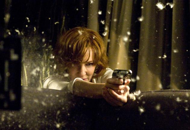Off Target: Cate Blanchett plays a CIA assassin whose Texan accent should have its own licence to kill