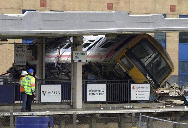 Network Rail faces a fine today when it is sentenced in court for safety failings over the 2002 Potters Bar train crash