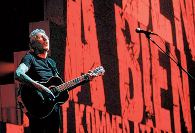Bricks of the trade: Roger Waters performs 'The Wall'