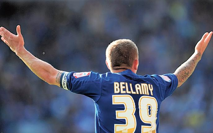 There is a feeling in Cardiff that with players such as Craig Bellamy in their squad the team should have won automatic promotion