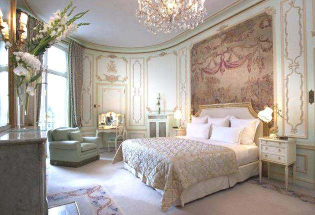 A room at the Ritz Paris. The hotel failed to make the elite 'palace' category