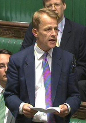 The former Liberal Democrat minister David Laws makes his apology in the Commons yesterday after being told he would be suspended