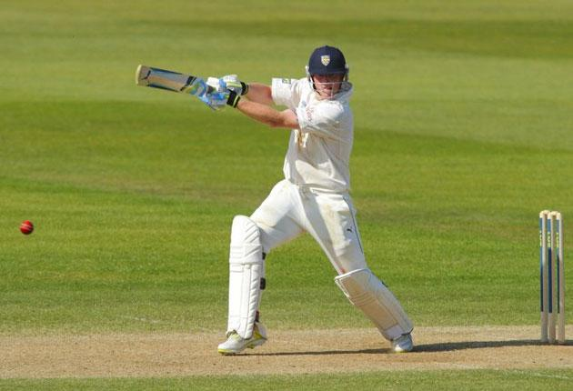 Durham teenager Ben Stokes hit his second century of the summer