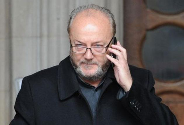 George Galloway: The former MP's spokesman said the development was a legal dispute between journalists and the Charity Commission
