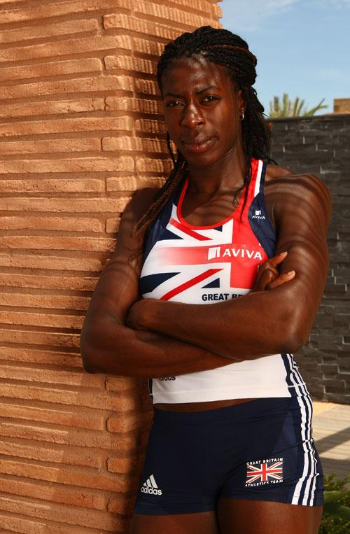 Ohuruogu goes to the World Championships in August, saying: 'I cannot come home without a medal'