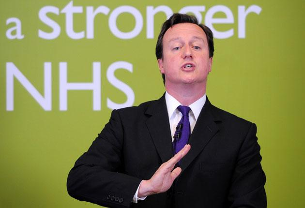 David Cameron said reforms must address the problem of bed blocking