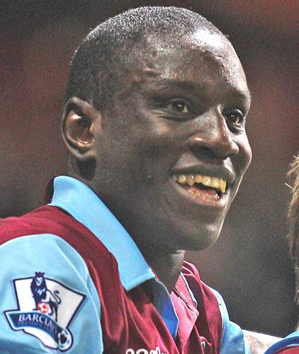 Demba Ba said a fan 'screamed at him like crazy' at the West Ham dinner