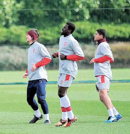 Tomas Rosicky, Emmanuel Eboué and Denilson are all likely to leave Arsenal this summer
