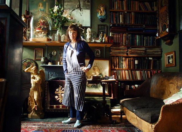 The journey of life: Beryl Bainbridge, at home in 2001
