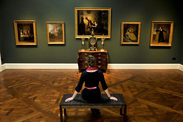 Good stuff: The newly refurbished Holburne Museum in Bath, a delightful celebration of the art of the collector