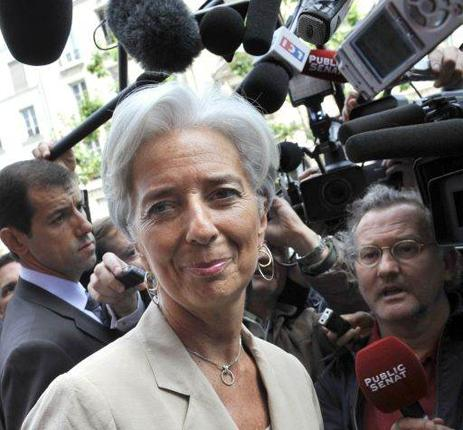 Christine Lagarde, the French Finance Minister and potential new IMF chief