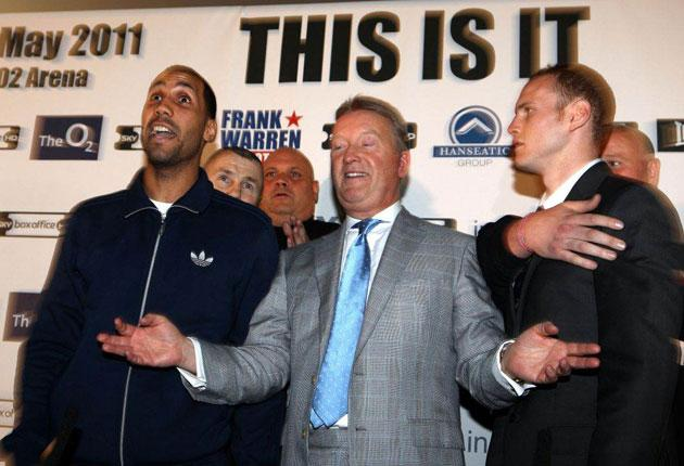 """""""I can't see it going 12 rounds, seriously,"""" said DeGale (left), who already has his eye on another step up in class with European and world honours in his sights"""