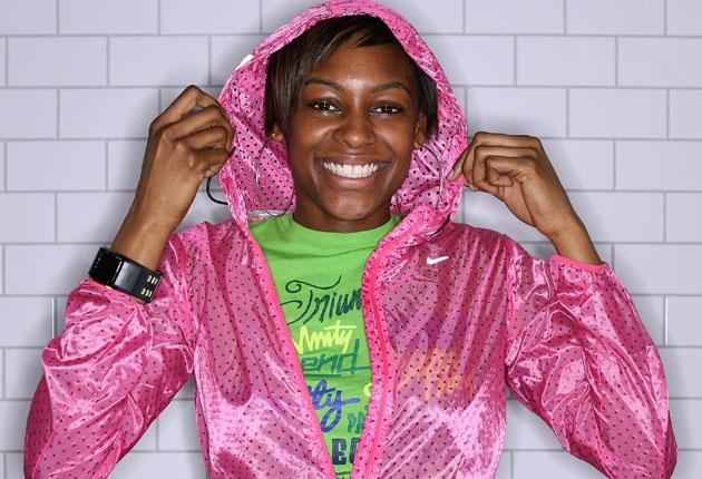 'Yeah, I live with my mum in Bow. You can see the Olympic Stadium from the end of our road,' says Perri Shakes-Drayton