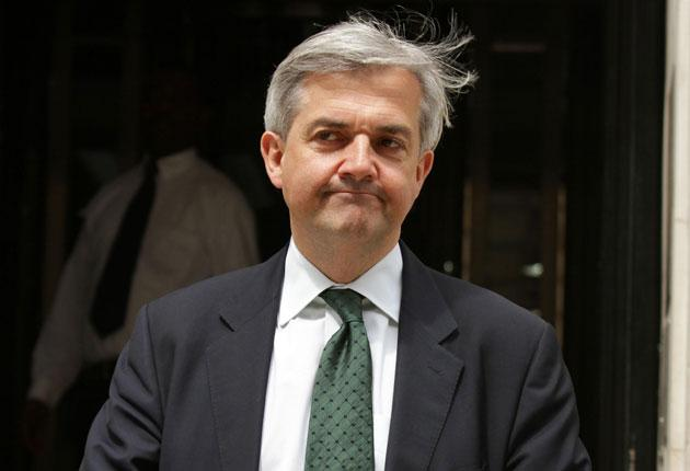 The Energy Secretary, Chris Huhne, arrives for a cabinet meeting at 10 Downing Street last Tuesday