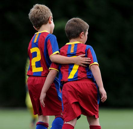 Barça's academy has a history of bringing young players into the first team graphic