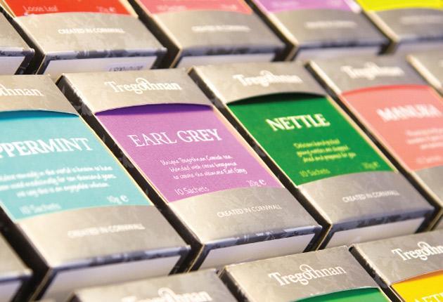 The Tregothnan estate produces 10 tons of tea each year