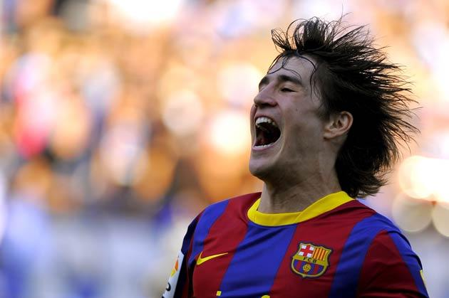 <b>11-BOJAN KRKIC, 20:</b> His pace and trickery are a useful asset when he comes off the bench late on, but he has played only 60 minutes in Europe this season.