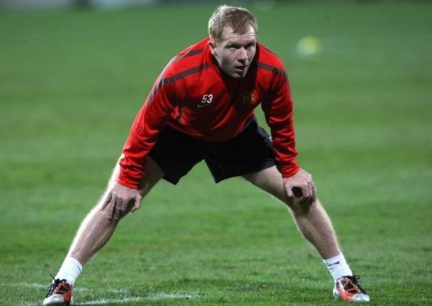 <b>18-PAUL SCHOLES, 36:</b> Clinging on to past glories, he can still ping a superb pass, strike a stinging shot and manoeuvre defenders into a spin. Comfortably the worst tackler in the team, if not the country, and Ferguson will be wary of risking him a