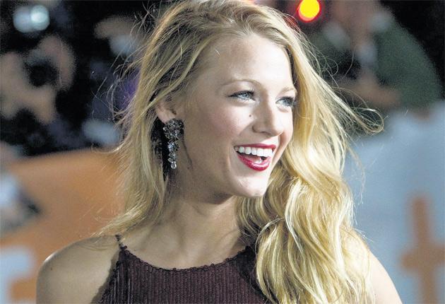 Heroine chic: Blake Lively