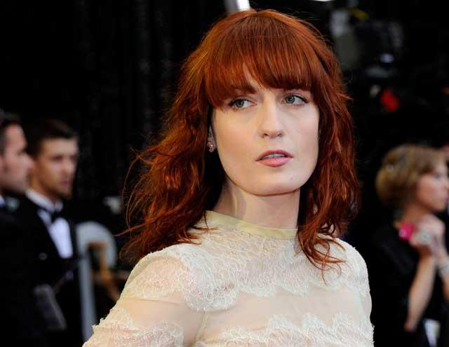 Ghost writer: Florence Welch's second album, which will have a distinctly spooky feel