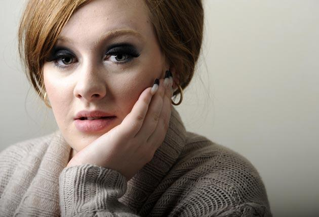Adele: had our admiration until she started talking about tax