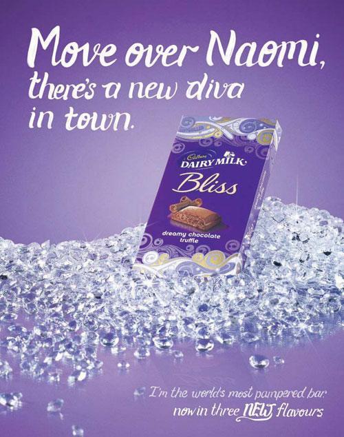 Cadbury's advert for its 'Bliss' chocolate bar