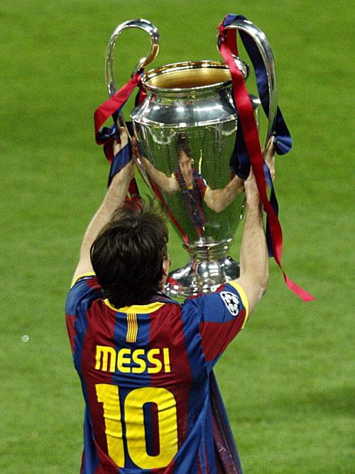 Messi led Barcelona to their fourth European Cup triumph