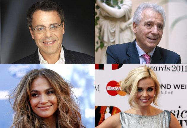 "Jean Michel Cohen, top left, described the  diet devised by Dr Pierre Dukan, top right, as a ""bandwagon of fantasy"". Jennifer Lopez, bottom left, and Katherine Jenkins, bottom right, are followers of the diet"