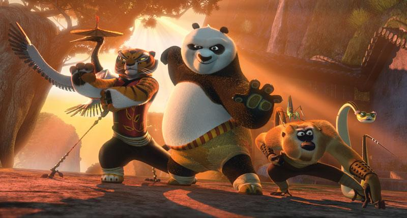 Kung Fu Panda 2, from Dreamworks, launches in China on Wednesday