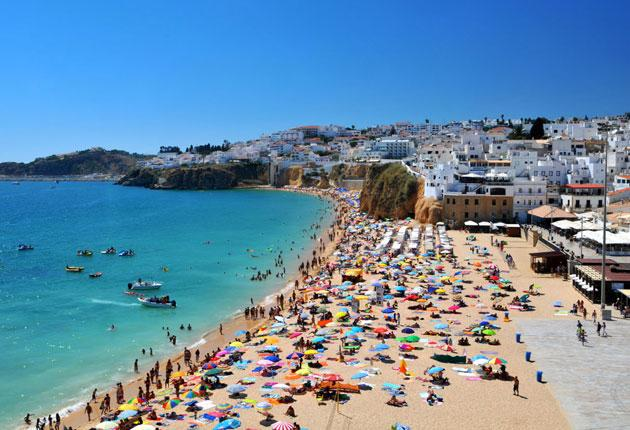 Albufeira, where two Britons have died after attacks by youths