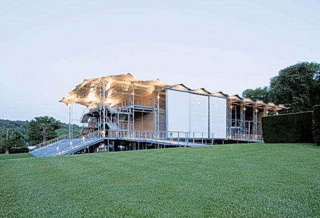 Ikea arias: Garsington Opera's new pavilion at Wormsley Park