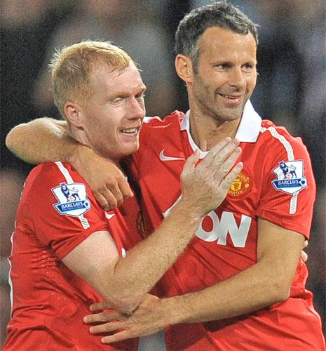 With Paul Scholes announcing his retirement, team-mate Ryan Giggs  cannot be far behind