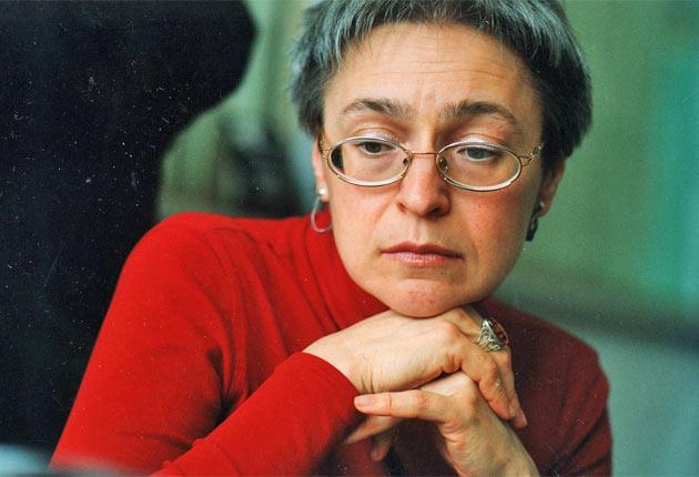 Anna Politkovskaya was murdered after investigating rights abuses in Chechnya