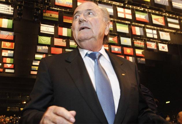 Fifa president Sepp Blatter must reassure the 'big six' partners