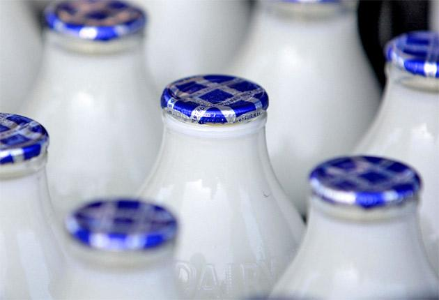 Milk is one of the richest sources of iodine