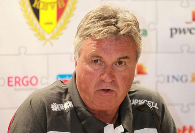 Guus Hiddink: The Dutchman is expected to leave his post as manager of Turkey in the next few days to return to Chelsea after three seasons