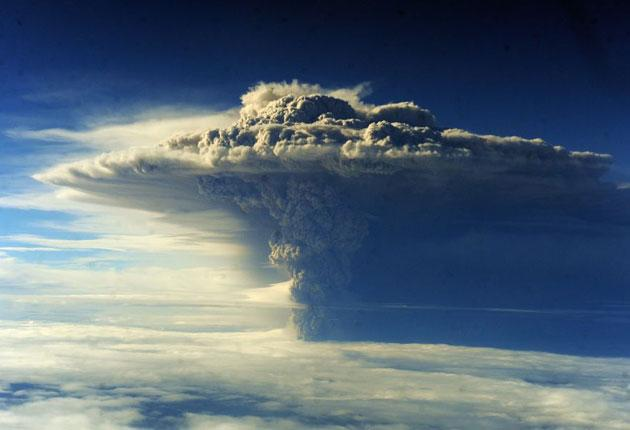 The thick cover of ash meant it was not immediately clear which of the Puyehye-Codron Caulle chain's four volcanoes had erupted