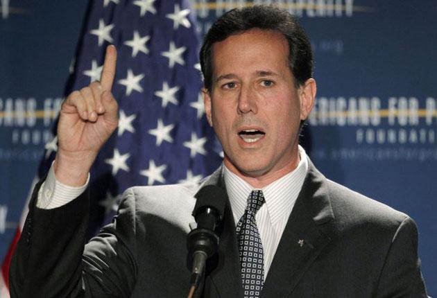 Former senator Rick Santorum has confirmed he is running for president