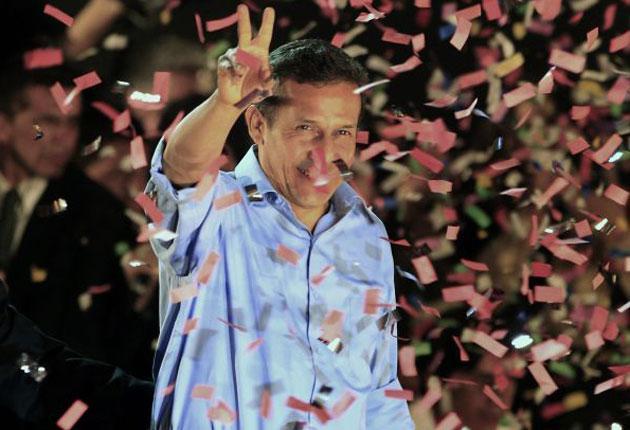 Ollanta Humala has won Peru's presidential election