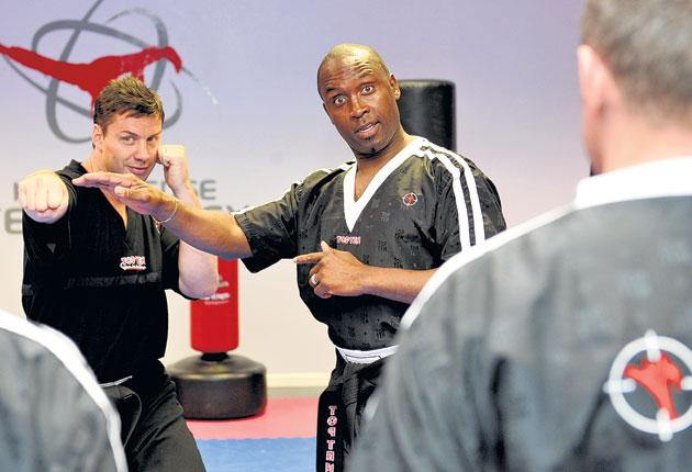Nigel Benn was introduced to British Military Martial Arts by Lee Matthews, another ex-serviceman