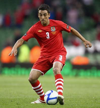 Taylor earned his first senior Wales cap under John Toshack in a friendly in Croatia in May 2010