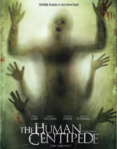 The poster for 'The Human Centipede II'