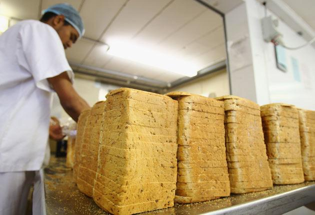 The price of bread has risen by 6.9%