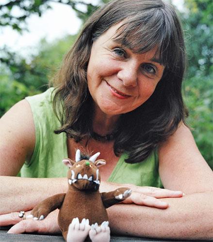 The new children's laureate Julia Donaldson, creator of 'The Gruffalo'