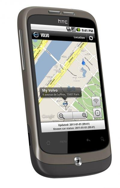 The new Volvo Mobile app