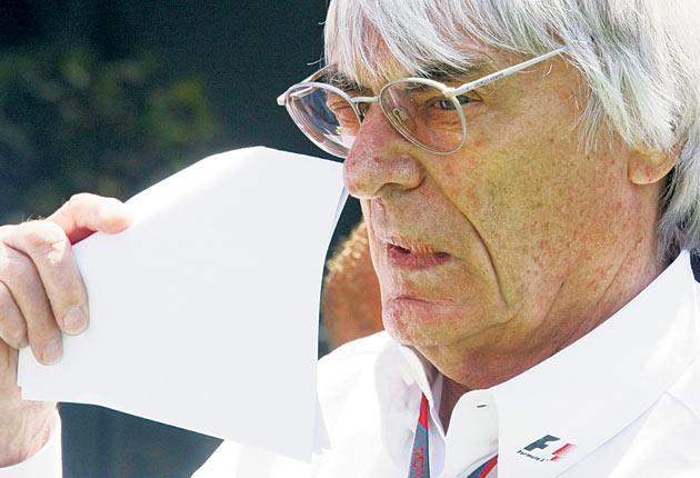 The FIA has blamed Bernie Ecclestone for reinstating the Bahrain Grand Prix