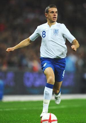 Jordan Henderson made his senior debut for England against France last year