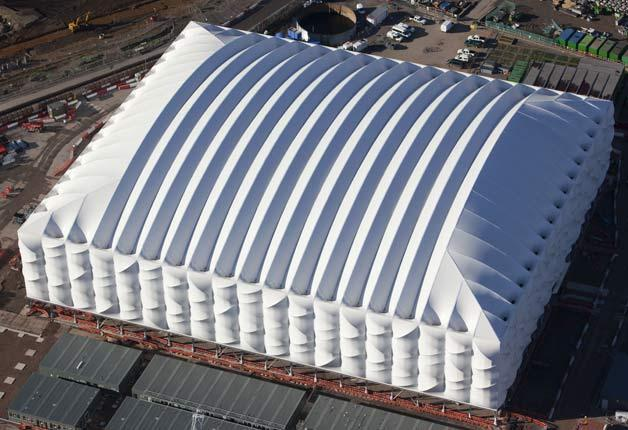 The 12,000-seat basketball arena for 2012 Olympics