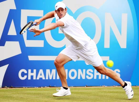 Roddick is bidding to become the first player to win five titles at the event