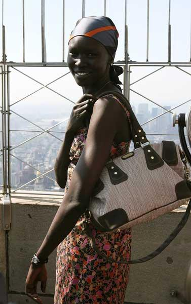 Alek Wek: 'I'm a city person - I like it when everything is compact and accessible'
